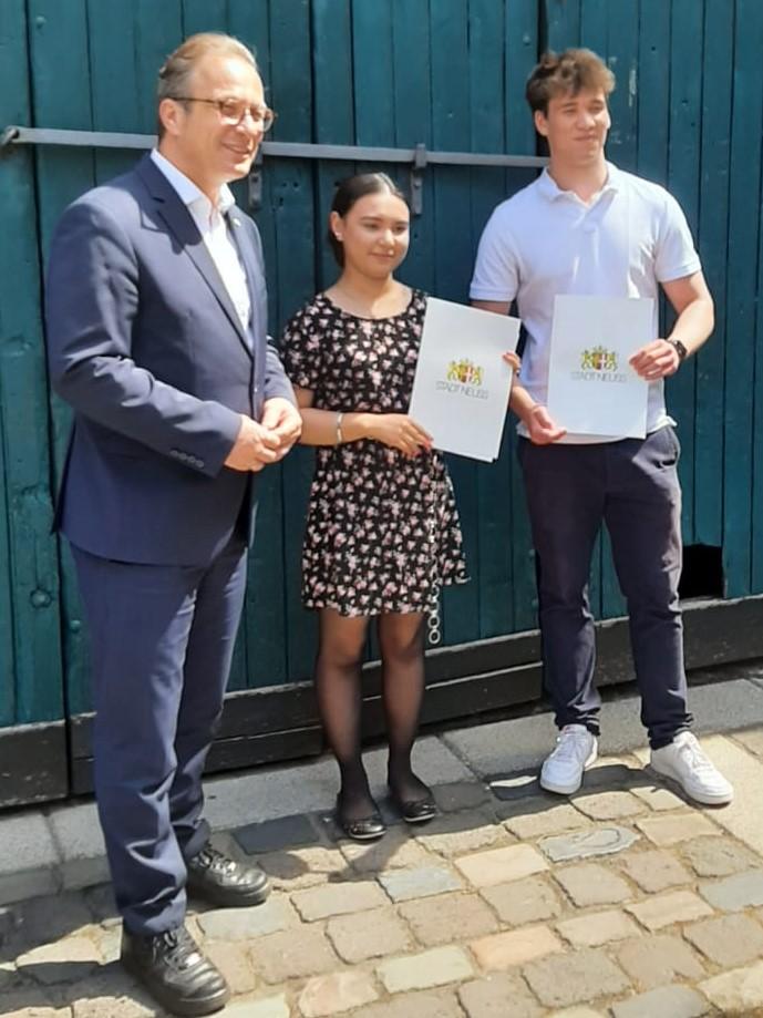 Schülerpreise der Stadt Neuss für die Comenius-Gesamtschule
